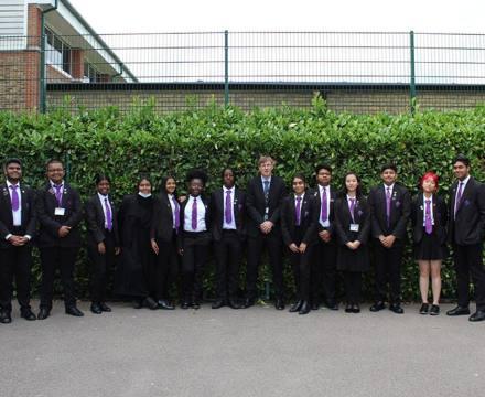 Grosvenor Road Student Leadership Team 2021/2022