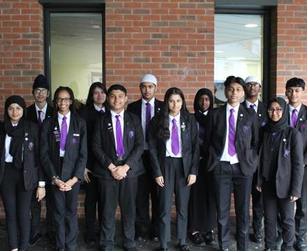 Upton Lane Student Leadership Team 2021/2022